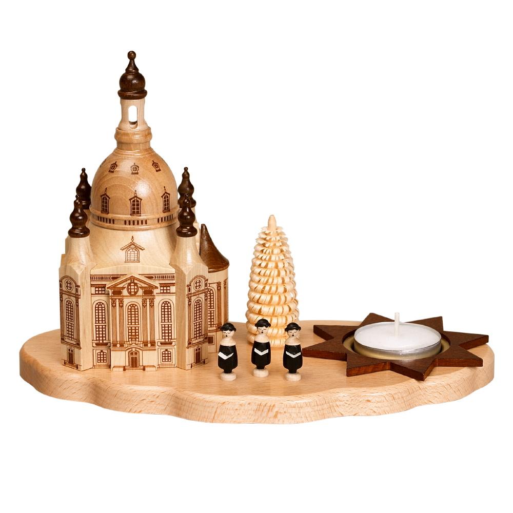 Kerzenhalter Dresdner Frauenkirche, Sänger und Bäumchen