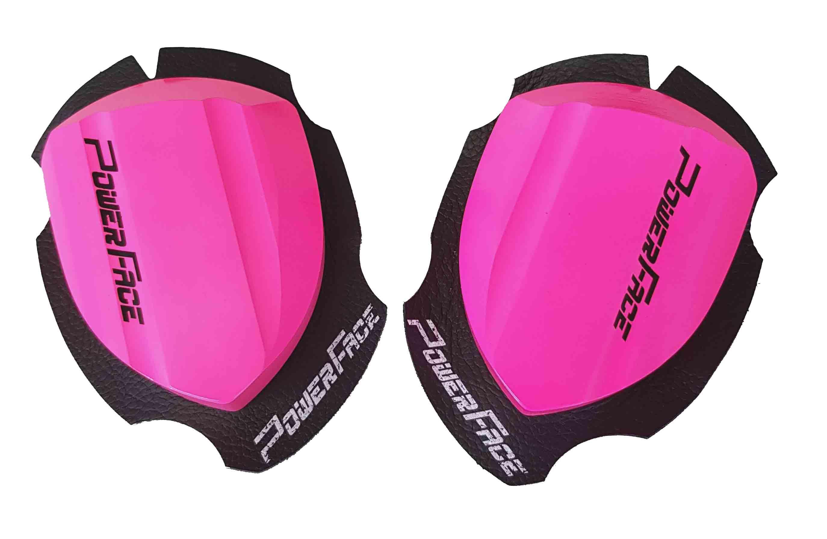 Power Face Holzknieschleifer Race pink