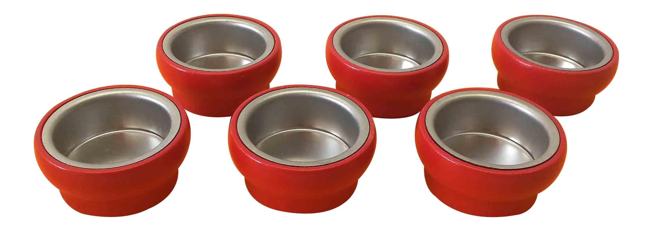 6 Tüllen rot