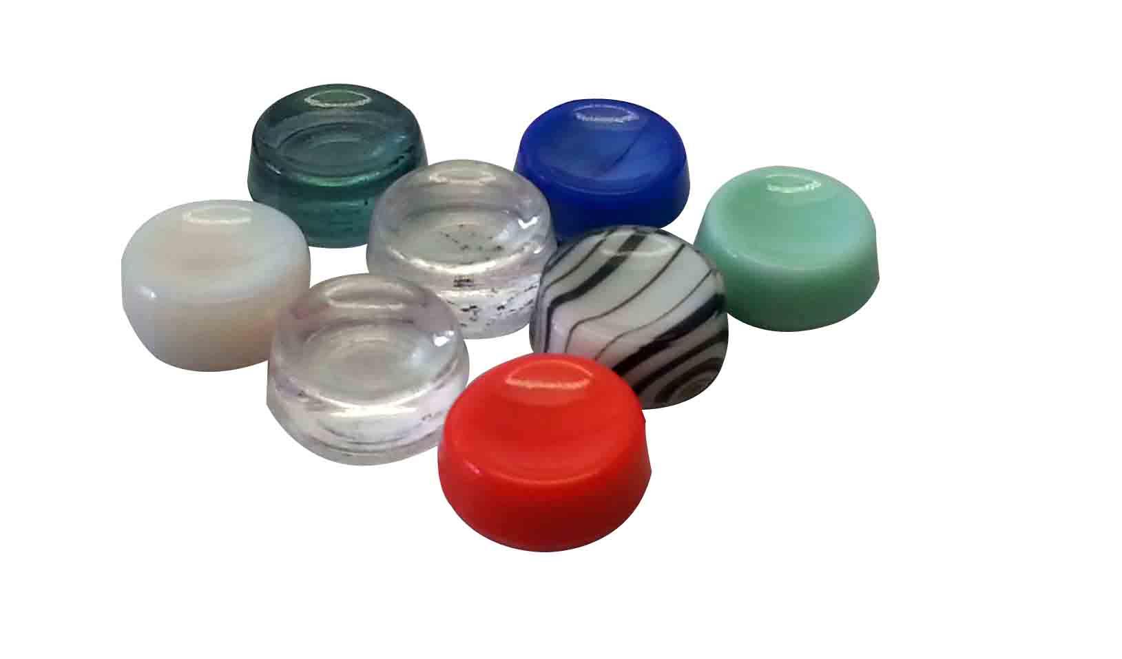 Glaslager farbig, Farbe nicht wählbar