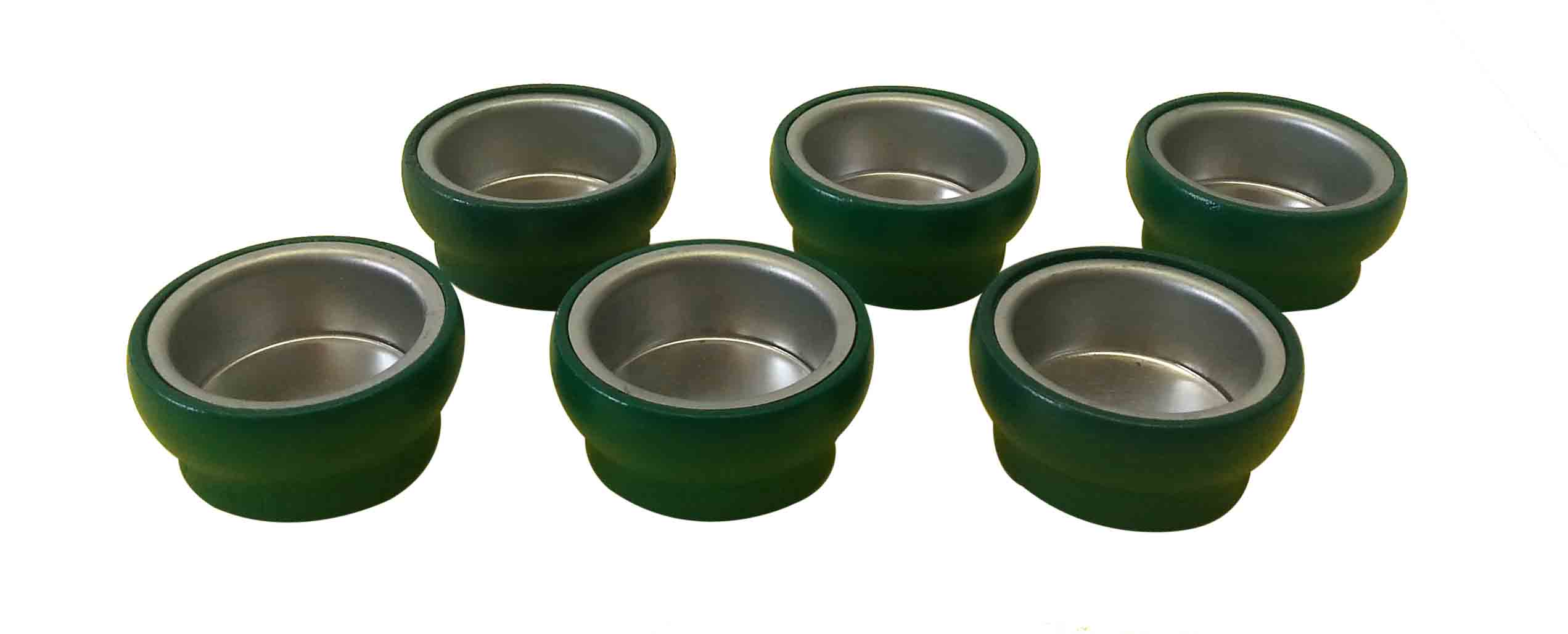 6 Tüllen grün