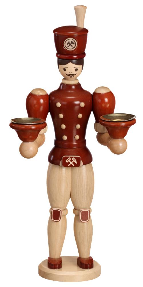 Kerzenhalter Bergmann