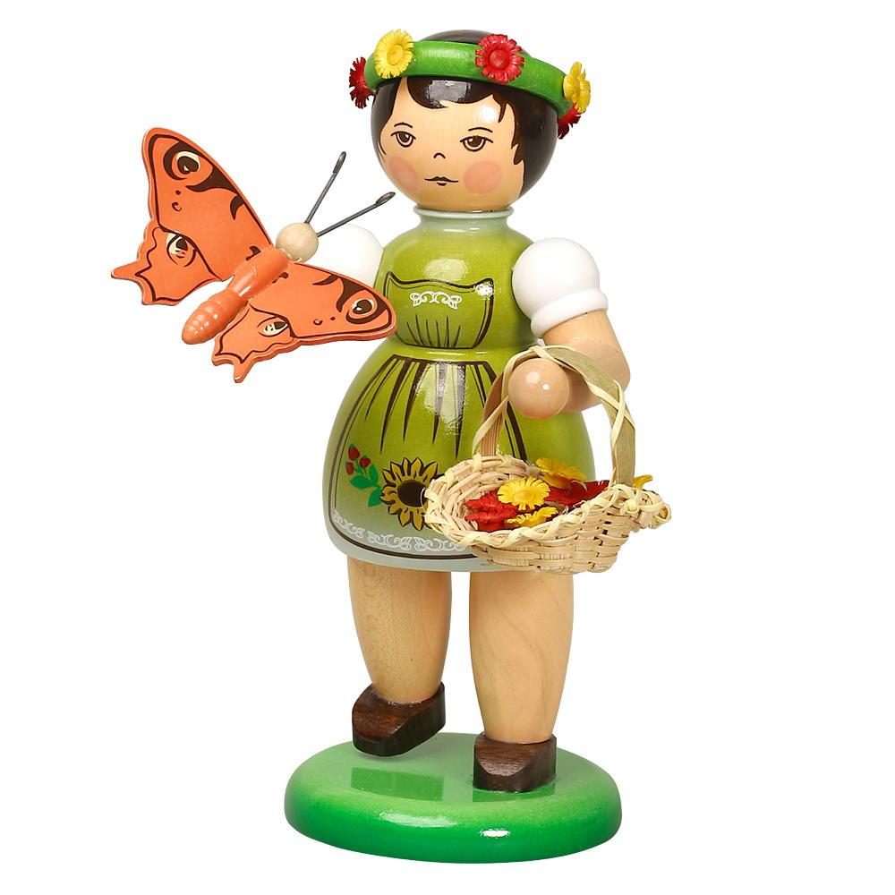 Schmetterlingskind grün